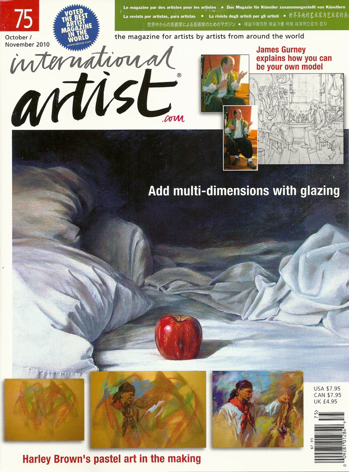 International Artist Magazine Features Whitney C Brock